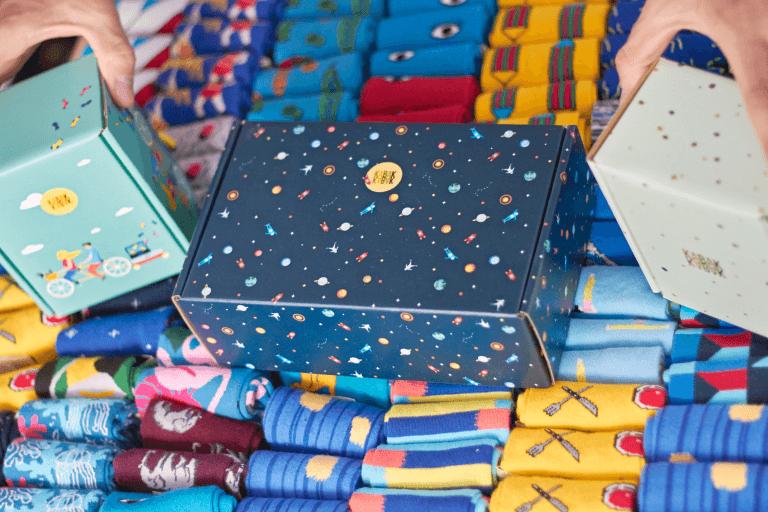 Barevné krabice Kabak