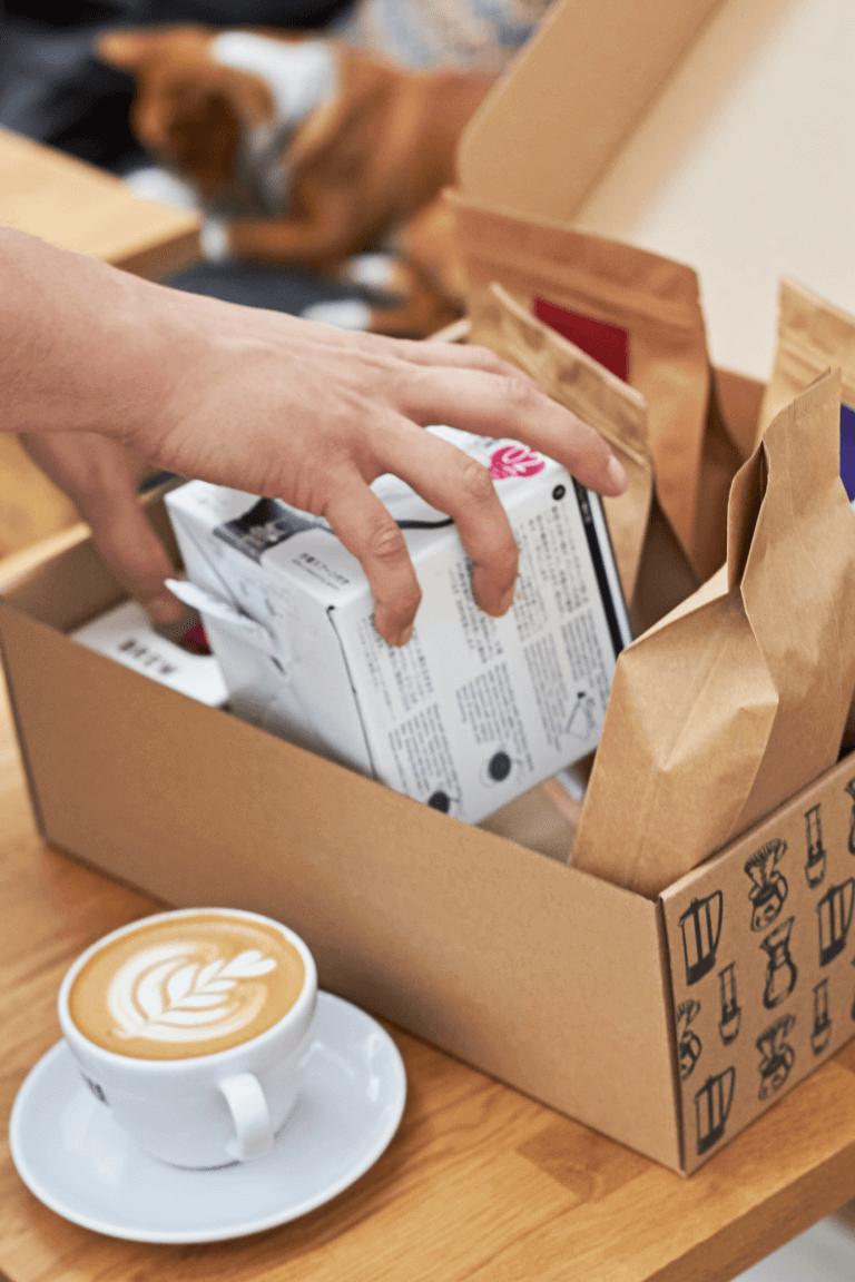 produktový box