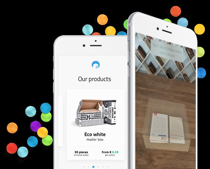 Mobilní aplikace Packhelp