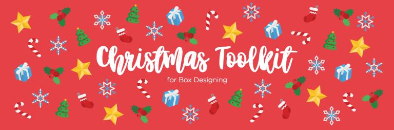 Vytvořte si své vánoční obaly s našim vánočním Design Toolkit